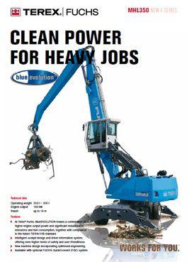 TEREX FUCHS MHL 340 | TEREX FUCHS MHL 350 | Material Handling
